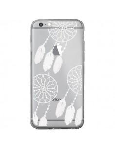 Coque Attrape Rêves Blanc Dreamcatcher Triple Transparente pour iPhone 6 Plus et 6S Plus - Petit Griffin