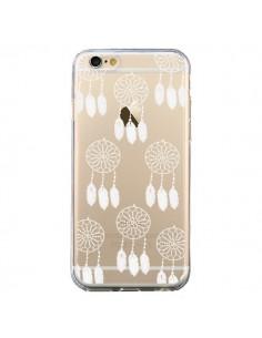 Coque Attrape Rêves Blanc Dreamcatcher Mini Transparente pour iPhone 6 et 6S - Petit Griffin