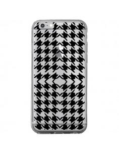 Coque Vichy Carre Noir Transparente pour iPhone 6 Plus et 6S Plus - Petit Griffin