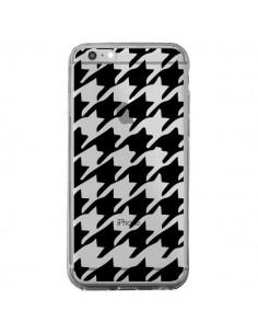 Coque Vichy Gros Carre noir Transparente pour iPhone 6 Plus et 6S Plus - Petit Griffin