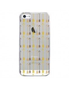 Coque iPhone 5/5S et SE Fleche Arrow Transparente - Petit Griffin