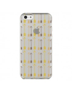 Coque iPhone 5C Fleche Arrow Transparente - Petit Griffin