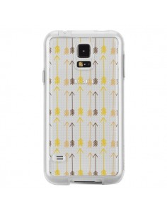 Coque Fleche Arrow Transparente pour Samsung Galaxy S5 - Petit Griffin