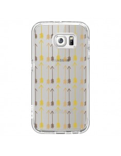 Coque Fleche Arrow Transparente pour Samsung Galaxy S6 - Petit Griffin