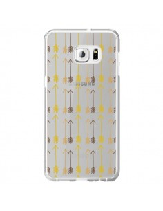 Coque Fleche Arrow Transparente pour Samsung Galaxy S6 Edge Plus - Petit Griffin