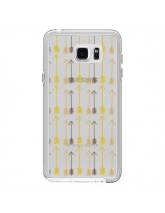 Coque Fleche Arrow Transparente pour Samsung Galaxy Note 5 - Petit Griffin
