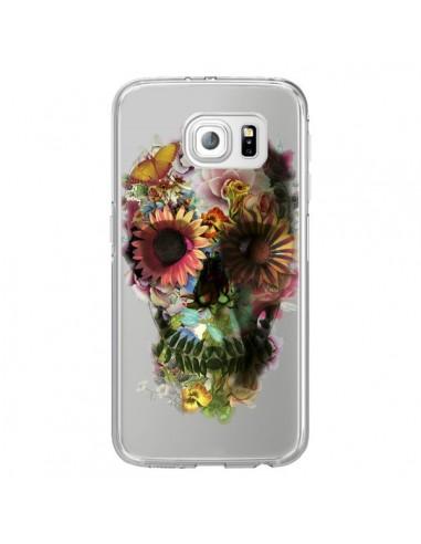 coque silicone galaxy s6 skull