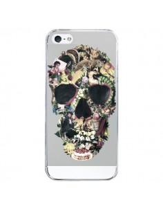 Coque Skull Vintage Tête de Mort Transparente pour iPhone 5/5S et SE - Ali Gulec