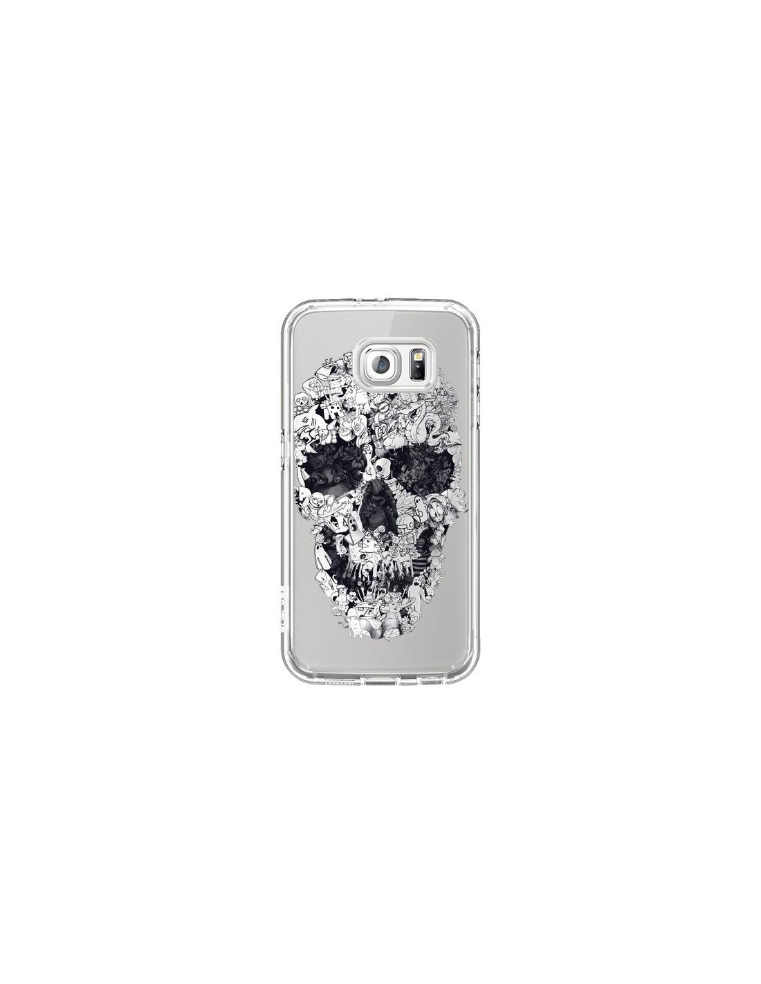 Coque Galaxy S7 Tete De Mort