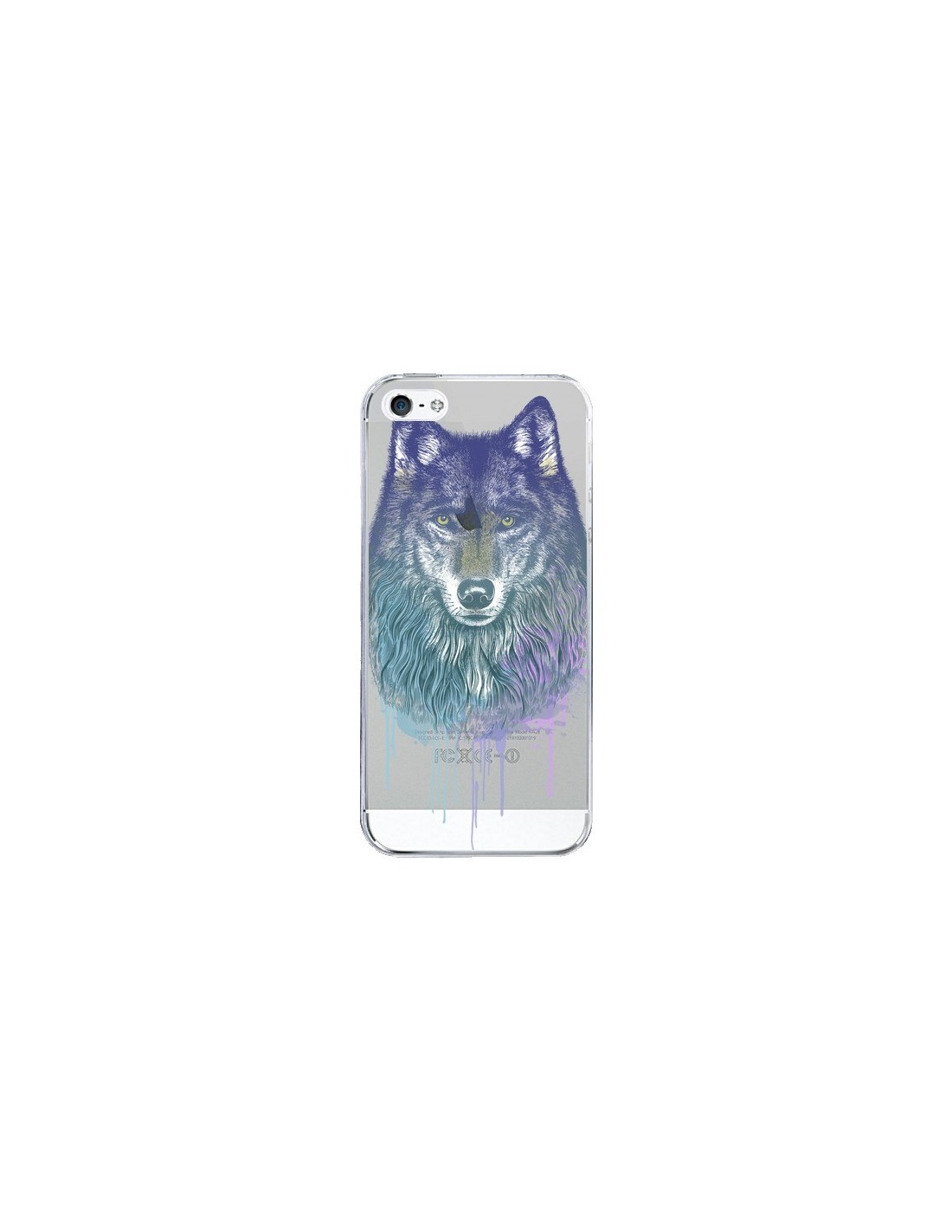 iphone 5 coque loup