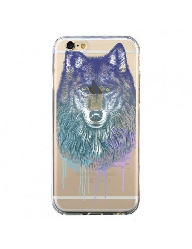 coque iphone 6 silicone loup