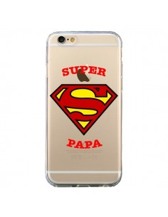 Coque Super Papa Transparente pour iPhone 6 et 6S - Laetitia