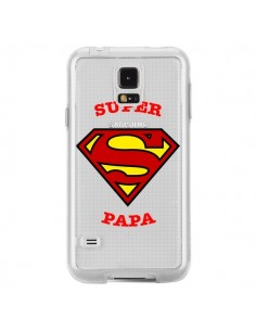 Coque Super Papa Transparente pour Samsung Galaxy S5 - Laetitia