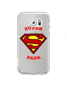 Coque Super Papa Transparente pour Samsung Galaxy S7 - Laetitia
