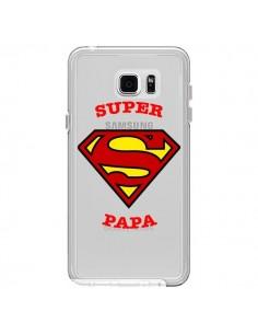 Coque Super Papa Transparente pour Samsung Galaxy Note 5 - Laetitia