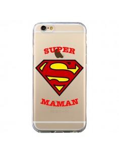 Coque Super Maman Transparente pour iPhone 6 et 6S - Laetitia