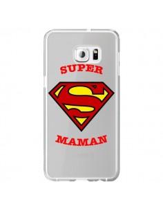 Coque Super Maman Transparente pour Samsung Galaxy S6 Edge Plus - Laetitia