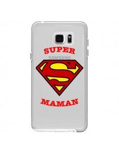 Coque Super Maman Transparente pour Samsung Galaxy Note 5 - Laetitia