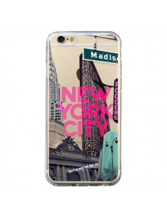 Coque New Yorck City NYC Transparente pour iPhone 6 et 6S - Javier Martinez