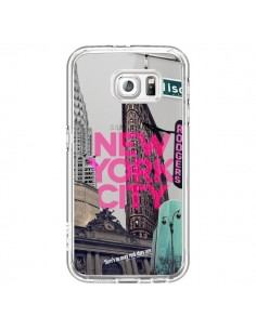 Coque New Yorck City NYC Transparente pour Samsung Galaxy S6 - Javier Martinez