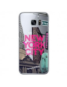 Coque New Yorck City NYC Transparente pour Samsung Galaxy S7 - Javier Martinez