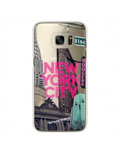 Coque New Yorck City NYC Transparente pour Samsung Galaxy S7 Edge - Javier Martinez