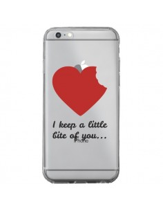 Coque I keep a little bite of you Love Heart Amour Transparente pour iPhone 6 Plus et 6S Plus - Julien Martinez