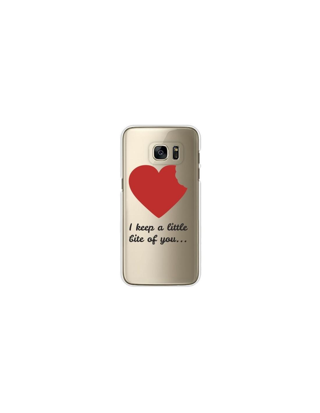 coque galaxy s7 love