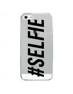 Coque Hashtag Selfie Transparente pour iPhone 5/5S et SE - Jonathan Perez