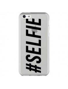 Coque Hashtag Selfie Transparente pour iPhone 5C - Jonathan Perez