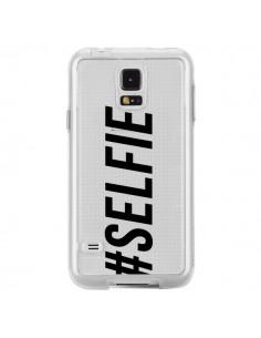 Coque Hashtag Selfie Transparente pour Samsung Galaxy S5 - Jonathan Perez