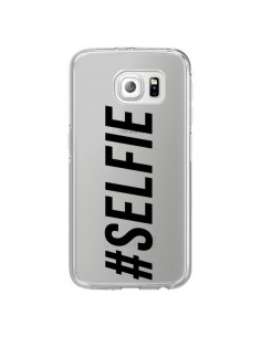 Coque Hashtag Selfie Transparente pour Samsung Galaxy S6 Edge - Jonathan Perez
