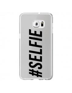 Coque Hashtag Selfie Transparente pour Samsung Galaxy S6 Edge Plus - Jonathan Perez