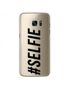 Coque Hashtag Selfie Transparente pour Samsung Galaxy S7 Edge - Jonathan Perez