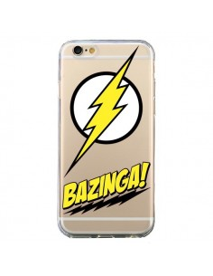 Coque Bazinga Sheldon The Big Bang Thoery Transparente pour iPhone 6 et 6S - Jonathan Perez