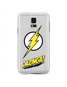Coque Bazinga Sheldon The Big Bang Thoery Transparente pour Samsung Galaxy S5 - Jonathan Perez