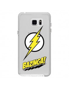 Coque Bazinga Sheldon The Big Bang Thoery Transparente pour Samsung Galaxy Note 5 - Jonathan Perez