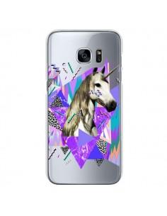 Coque Licorne Unicorn Azteque Transparente pour Samsung Galaxy S7 - Kris Tate
