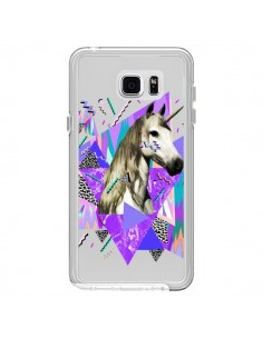 Coque Licorne Unicorn Azteque Transparente pour Samsung Galaxy Note 5 - Kris Tate