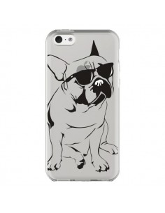 Coque Chien Bulldog Dog Transparente pour iPhone 5C - Yohan B.