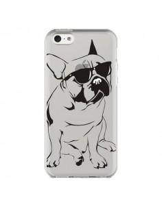Coque iPhone 5C Chien Bulldog Dog Transparente - Yohan B.