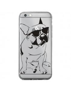 Coque iPhone 6 Plus et 6S Plus Chien Bulldog Dog Transparente - Yohan B.