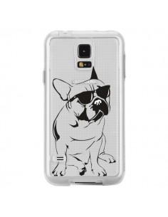 Coque Chien Bulldog Dog Transparente pour Samsung Galaxy S5 - Yohan B.