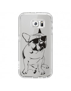 Coque Chien Bulldog Dog Transparente pour Samsung Galaxy S6 - Yohan B.