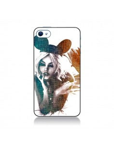 Coque Mickey Lady pour iPhone 4 et 4S