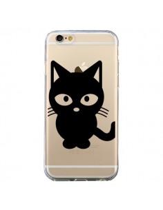 Coque Chat Noir Cat Transparente pour iPhone 6 et 6S - Yohan B.