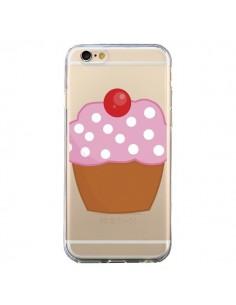 Coque Cupcake Cerise Transparente pour iPhone 6 et 6S - Yohan B.