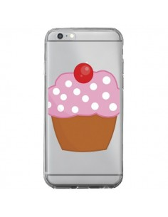 Coque iPhone 6 Plus et 6S Plus Cupcake Cerise Transparente - Yohan B.