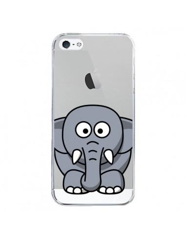 coque iphone 5 5s se elephant animal transparente 5s et se yohan b