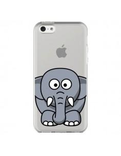 Coque iPhone 5C Elephant Animal Transparente - Yohan B.
